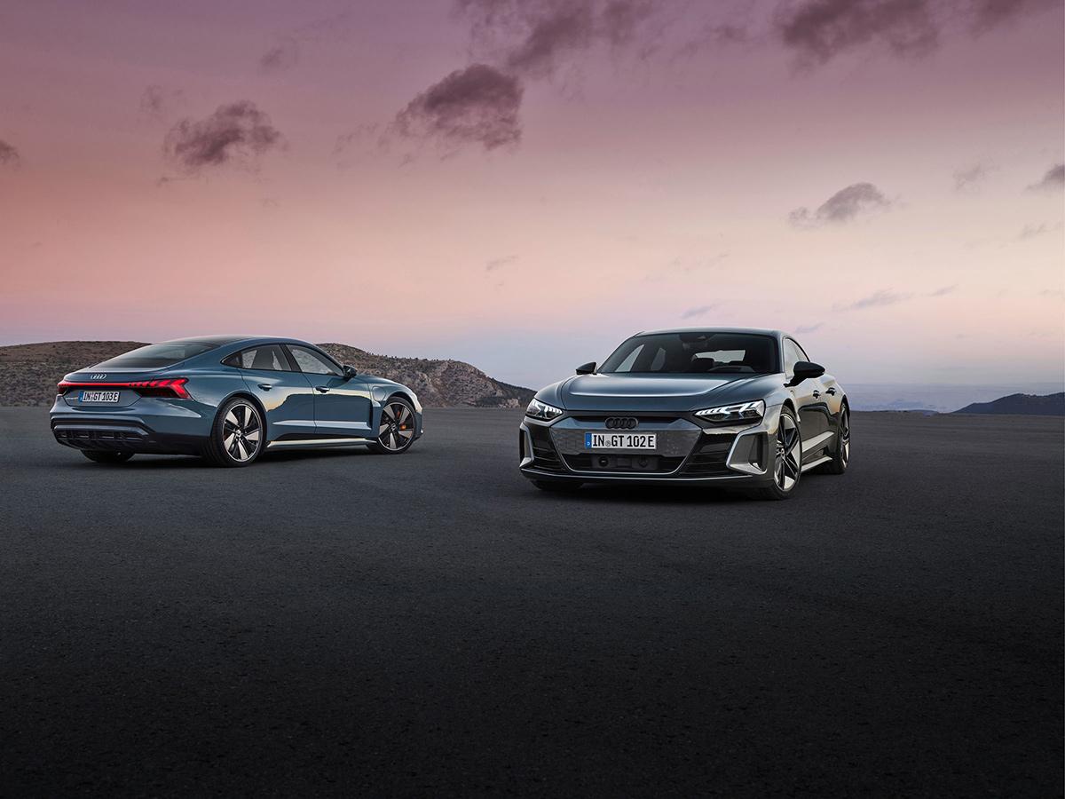 Modelos de Audi e-tron GT: Audi e-tron GT Quattro y Audi RS e-tron GT