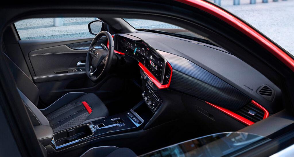 Vista Interior del Opel Mokka