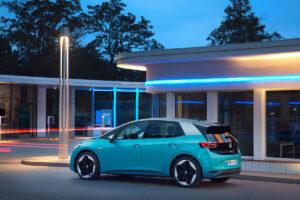 Vista exterior del Volkswagen ID3