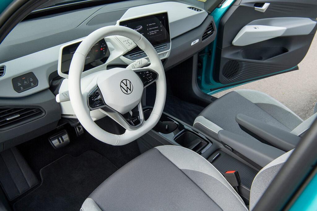 Vista interior Volkswagen ID3